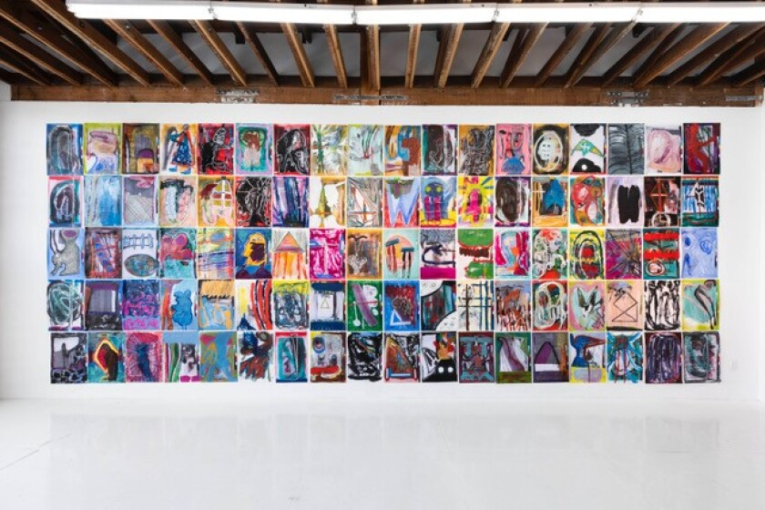 Michael Tedja shows 210 drawings in his debut L.A. gallery solo.