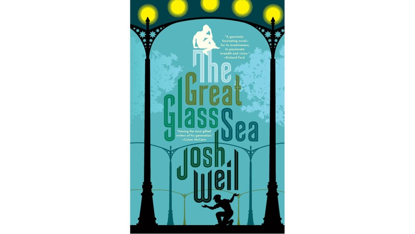 """The cover of Josh Weil's new book, """"The Great Glass Sea."""""""