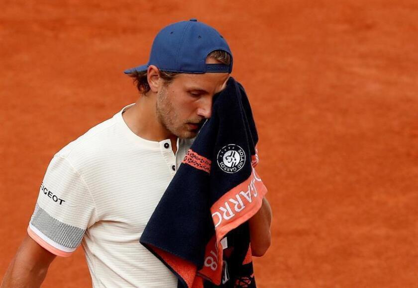 Lucas Pouille, tenista francés. EFE/Archivo