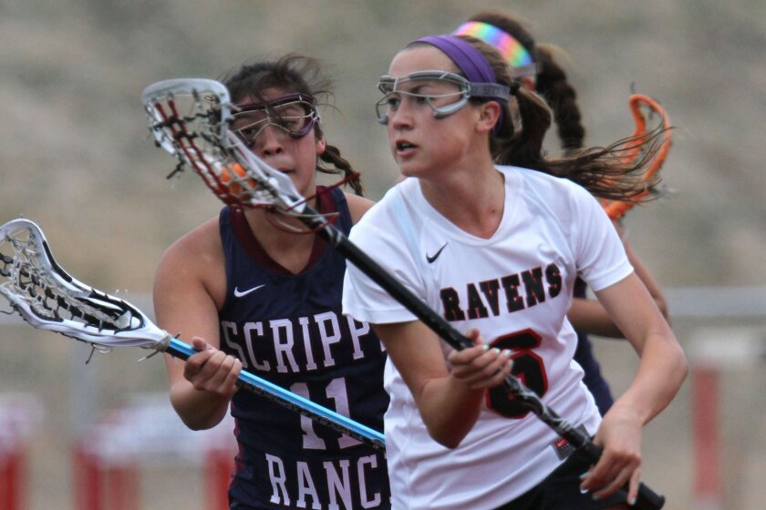 Senior captain Katie Carlson produced 50 goals and 10 assists last season for Canyon Crest.