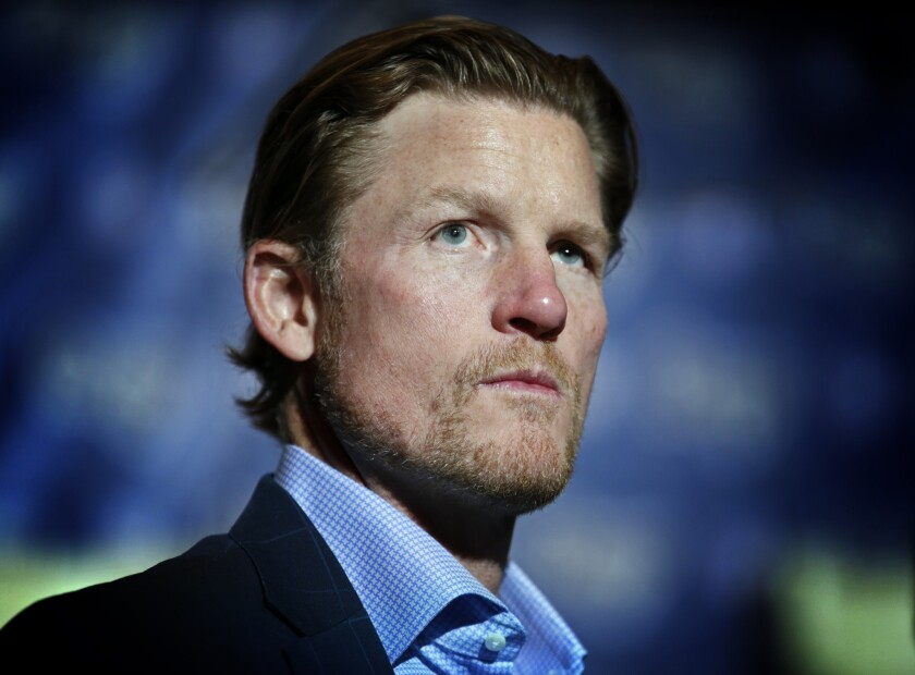 Rams General Manager Les Snead received a two-year contract extension before the season began.
