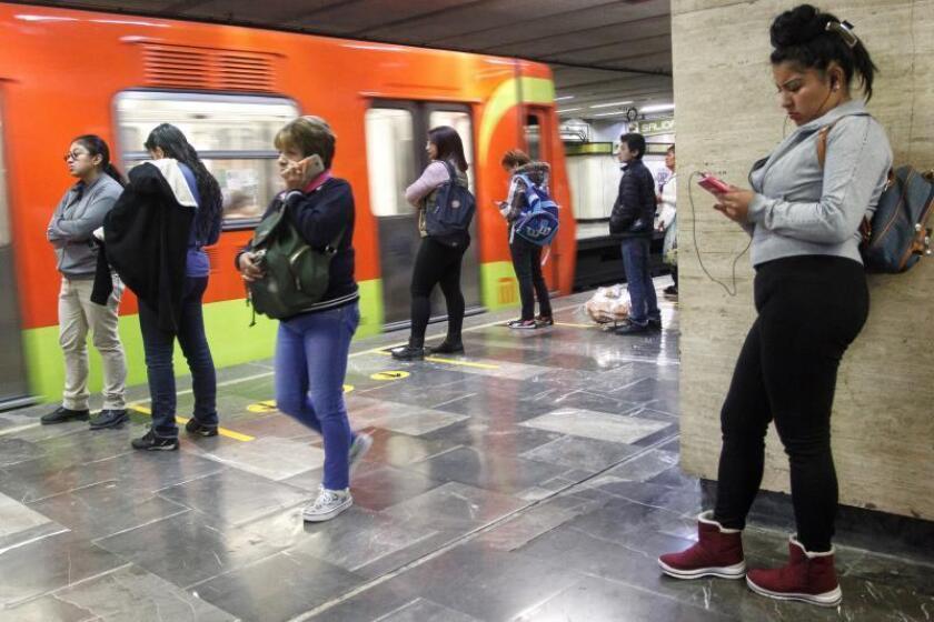 Vista general del Sistema de Transporte Colectivo (METRO), en Ciudad de México (México). EFE/Archivo
