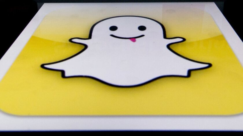Snap, the company behind disappearing-message app Snapchat, said Chief Financial Officer Tim Stone is leaving.