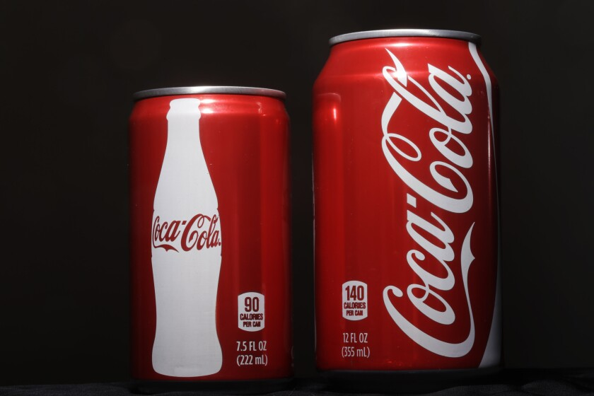 Shrinking Sodas
