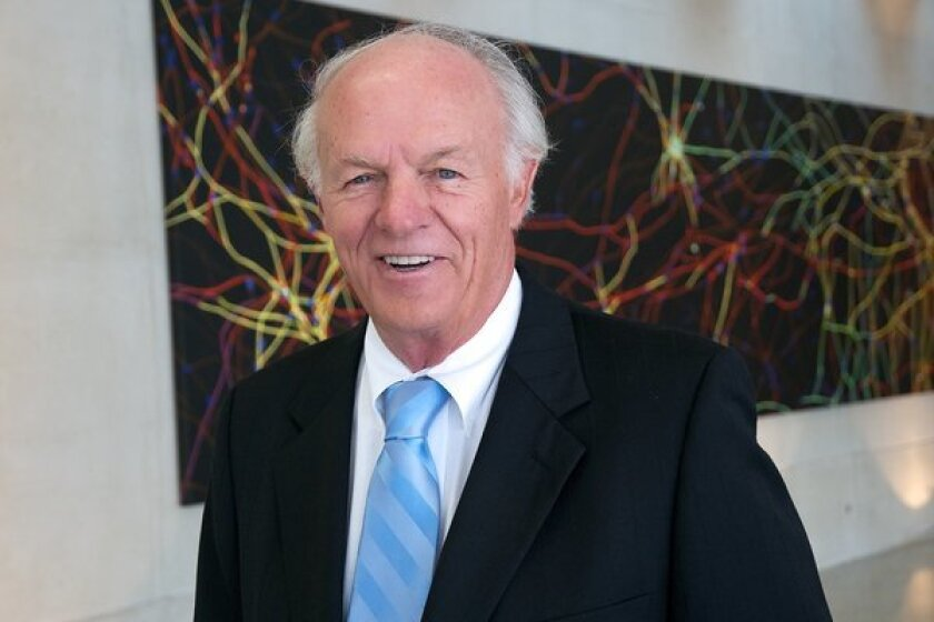 T. Denny Sanford, a South Dakota businessman and philanthropist, has donated $100 million to UC San Diego for stem cell research.
