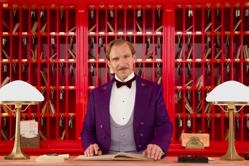 """Ralph Fiennes in a scene from """"The Grand Budapest Hotel."""""""