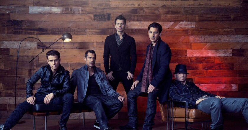 "New Kids on the Block released a new song Friday called ""House Party."""