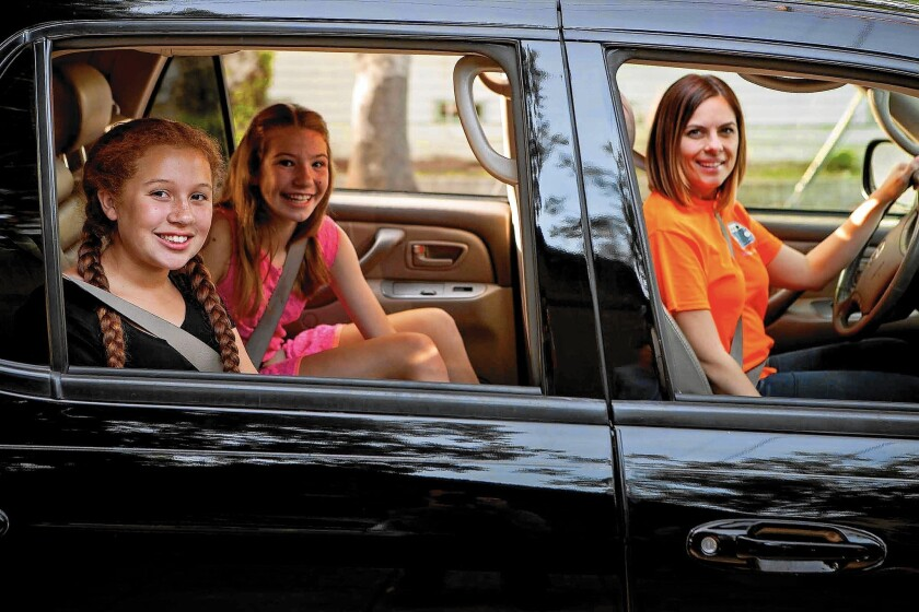 Ride-hailing services for kids catch on