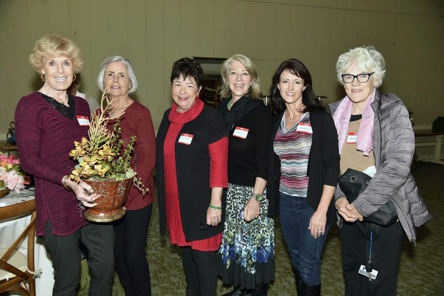 Katie Fish, Suzanne Ingrao, board member Adrienne Falzon, Executive Director Thora Guthrie, President Jennifer Perkinson, Shelagh Keegan