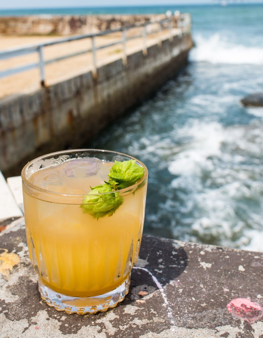 The Ocean Beach cocktail was created by Stephen Kurpinsky for George's Level2 in La Jolla.