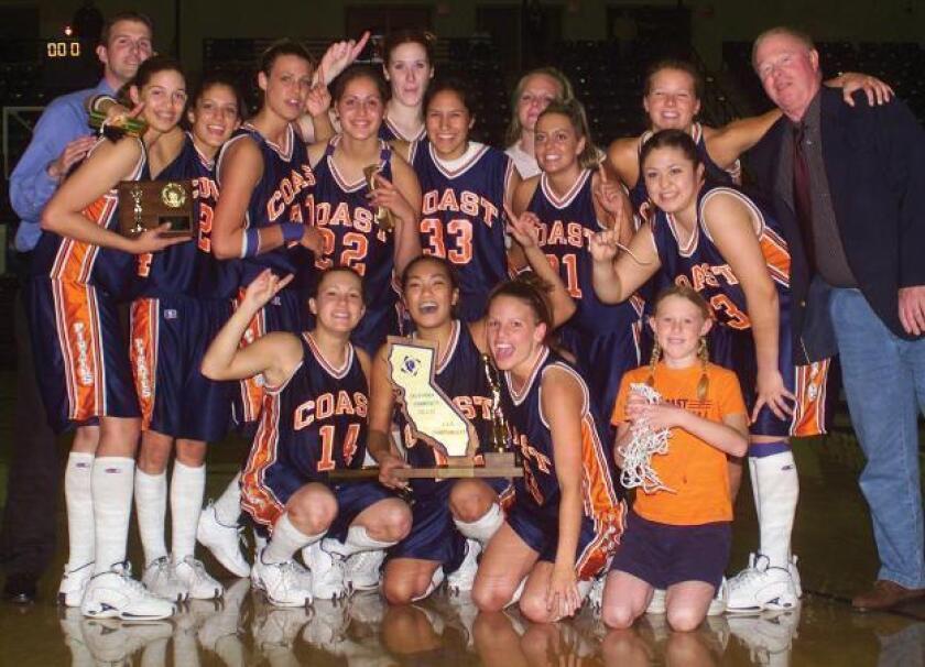 OCC to honor 2003 women's basketball team Friday night