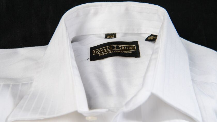 Macy's stopped selling Donald Trump-branded merchandise soon after he began running for president in response to Trump's comments about Mexican immigrants.