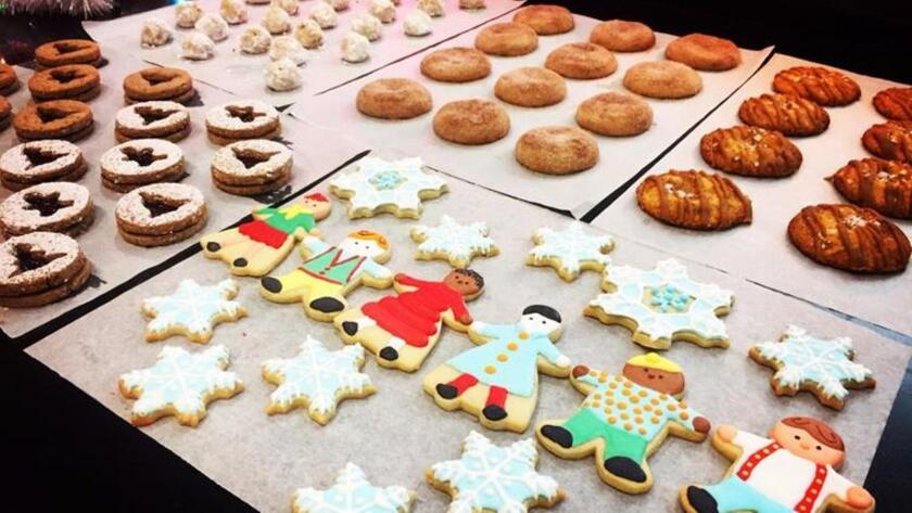 Christmas cookies are everywhere this time of year.