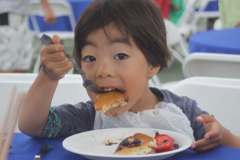 Kiwanis Club of La Jolla's annual pancake breakfast takes place 7-11 a.m. Saturday, July 23 at La Jolla Recreation Center.