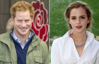 Emma Watson reacts to Prince Harry dating rumors