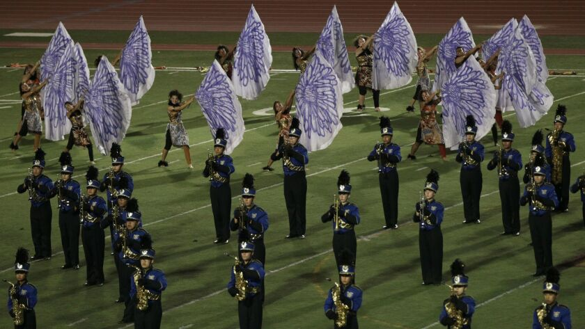 10/27/2012 San Diego, Ca. The 36th Annual Mt. Carmel Tournament of the Bands was held at Mt. Carme