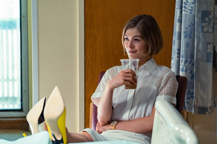 I Care a Lot' explained: Origins of Rosamund Pike's Marla - Los Angeles  Times