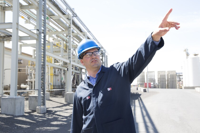 Jeff Johnson, who supervises the remaining REC Silicon workers in Moses Lake, says China has shut out U.S. polysilicon makers in a bid to dominate global solar manufacturing.