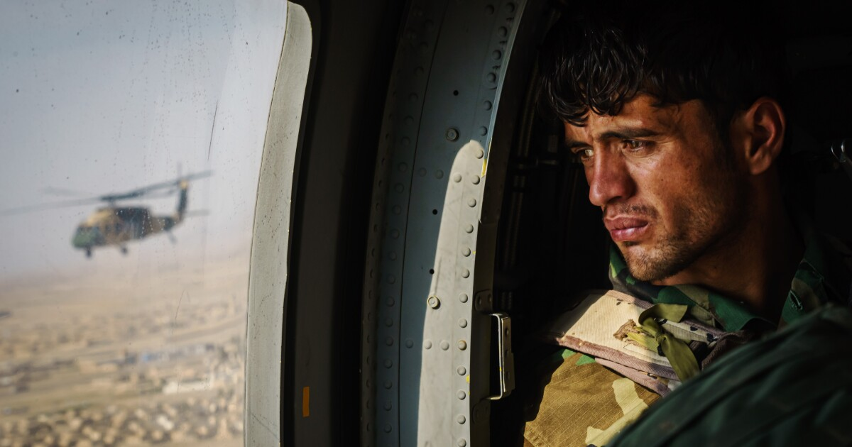 Afghanistan's air force is a rare U.S.-backed success story. It may soon fail.