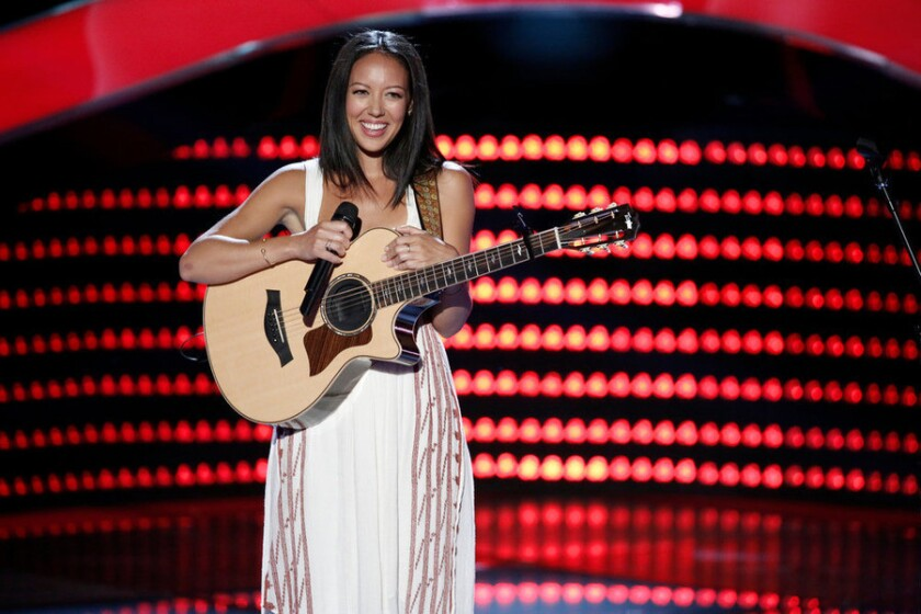 Amy Vachal on 'The Voice'