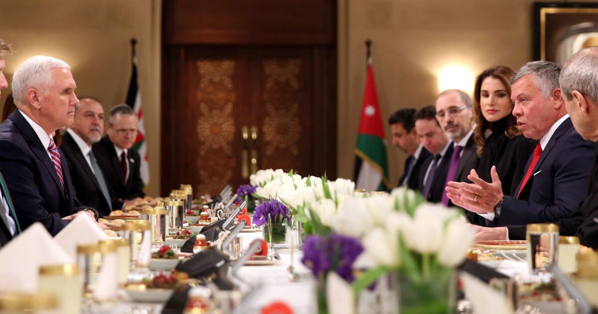 Top officials arrested in Jordan amid apparent coup attempt – Los Angeles Times