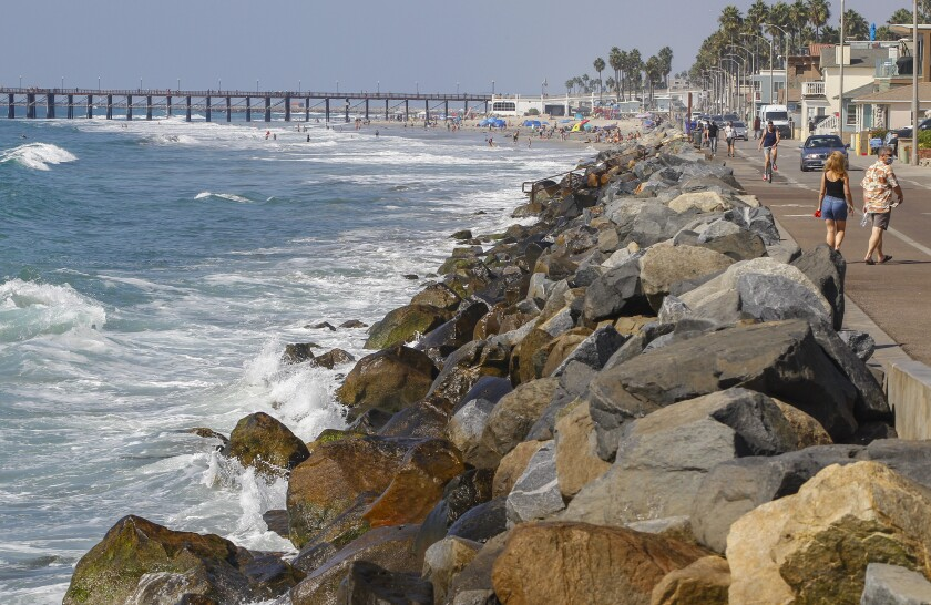 Oceanside is evaluating new strategies to keep sand on the city's beaches.