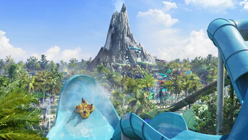 Volcano Bay water park at Universal Studios Florida