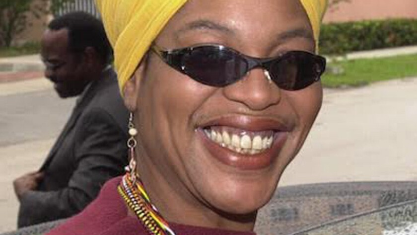 "Youree Dell Harris, known in advertising as infomercial psychic ""Miss Cleo,"" in 2002 photo. Harris died Tuesday after a battle with colon cancer."