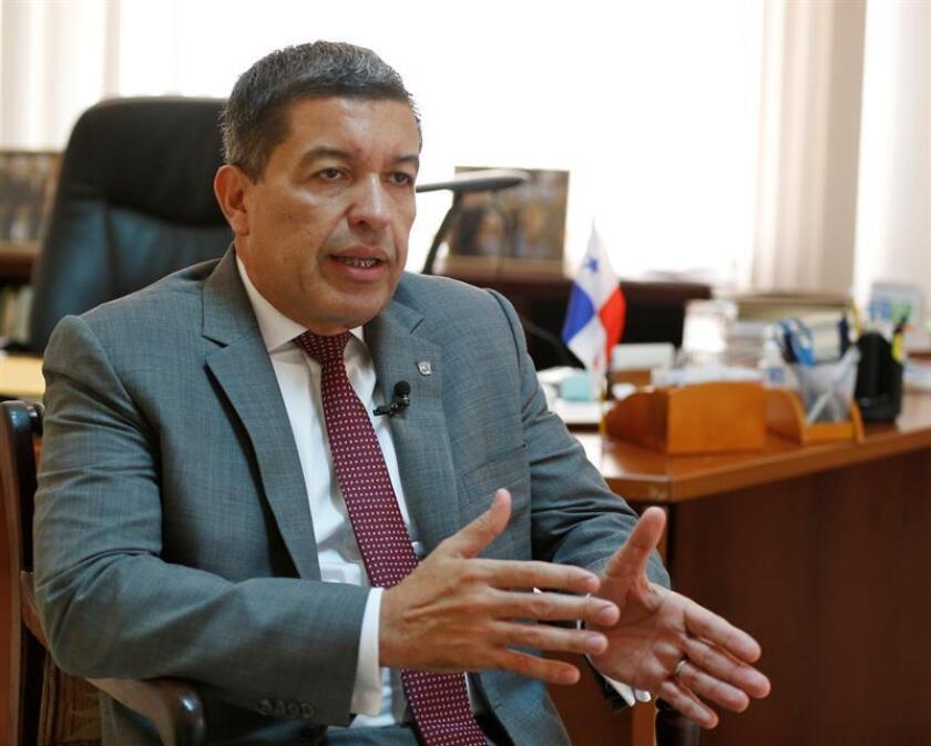 LA HABANA, CUBA, Nov. 8, 2018.- Panama's ambassador to Cuba, Max Lopez Cornejo, told EFE that there is a lot of interest for Cuban entrepreneurs to travel to Panama. EPA/EFE/Ernesto Mastrascusa