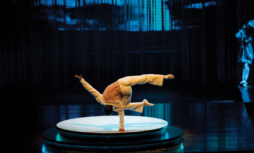 """A fusion of athleticism and art in """"Zarkana"""""""