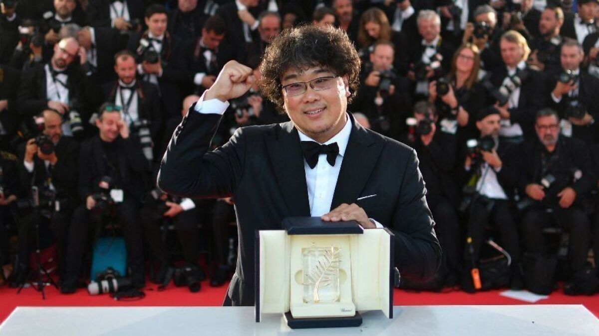 Bong Joon Ho S Parasite And Mati Diop S Atlantics Make History At Cannes Film Festival Los Angeles Times