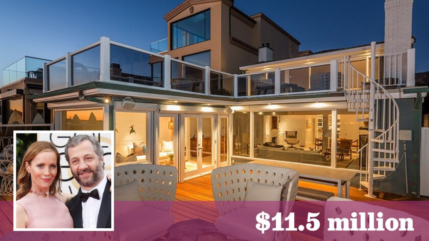 Hot Property | Judd Apatow & Leslie Mann