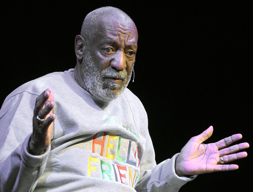Comedian Bill Cosby performs at the Maxwell C. King Center for the Performing Arts, in Melbourne, Fla., in November 2014.