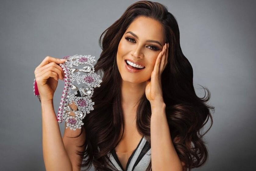 Andrea Meza llegaba como una de las grandes favoritas a la corona.