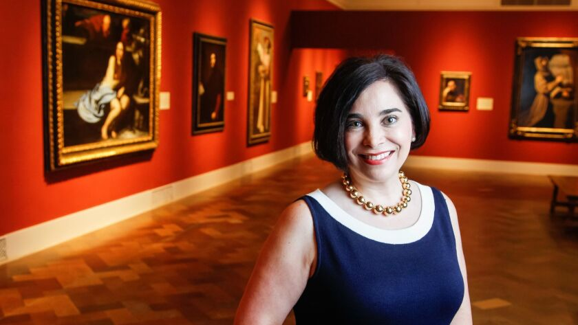 Roxana Velásquez, Maruja Baldwin Executive Director at The San Diego Museum of Art.
