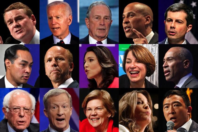 Democratic presidential candidates