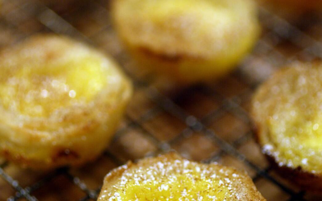 Pasteis de nata (custard pastries)