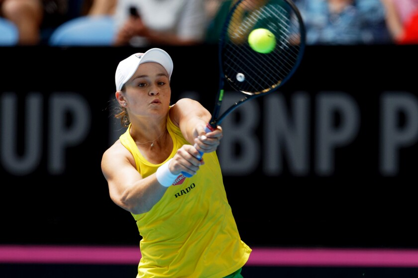 Australia France Fed Cup Tennis