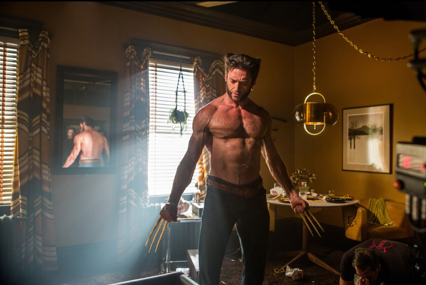 "Logan/The Wolverine (Hugh Jackman) finds himself in the distant past ""X-Men: Days of Future Past."""
