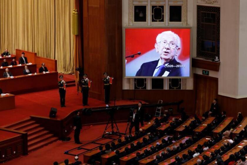 China honra a Samaranch como una de las figuras clave de su historia reciente