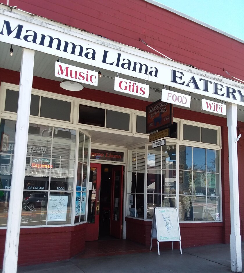 Mamma Llama Eatery and Cafe in Weaverville