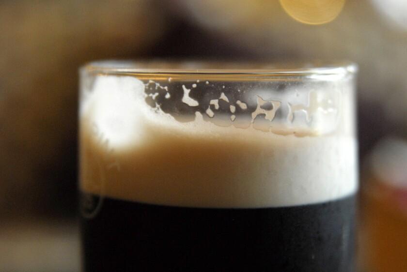 Irish Guinness in a bar.