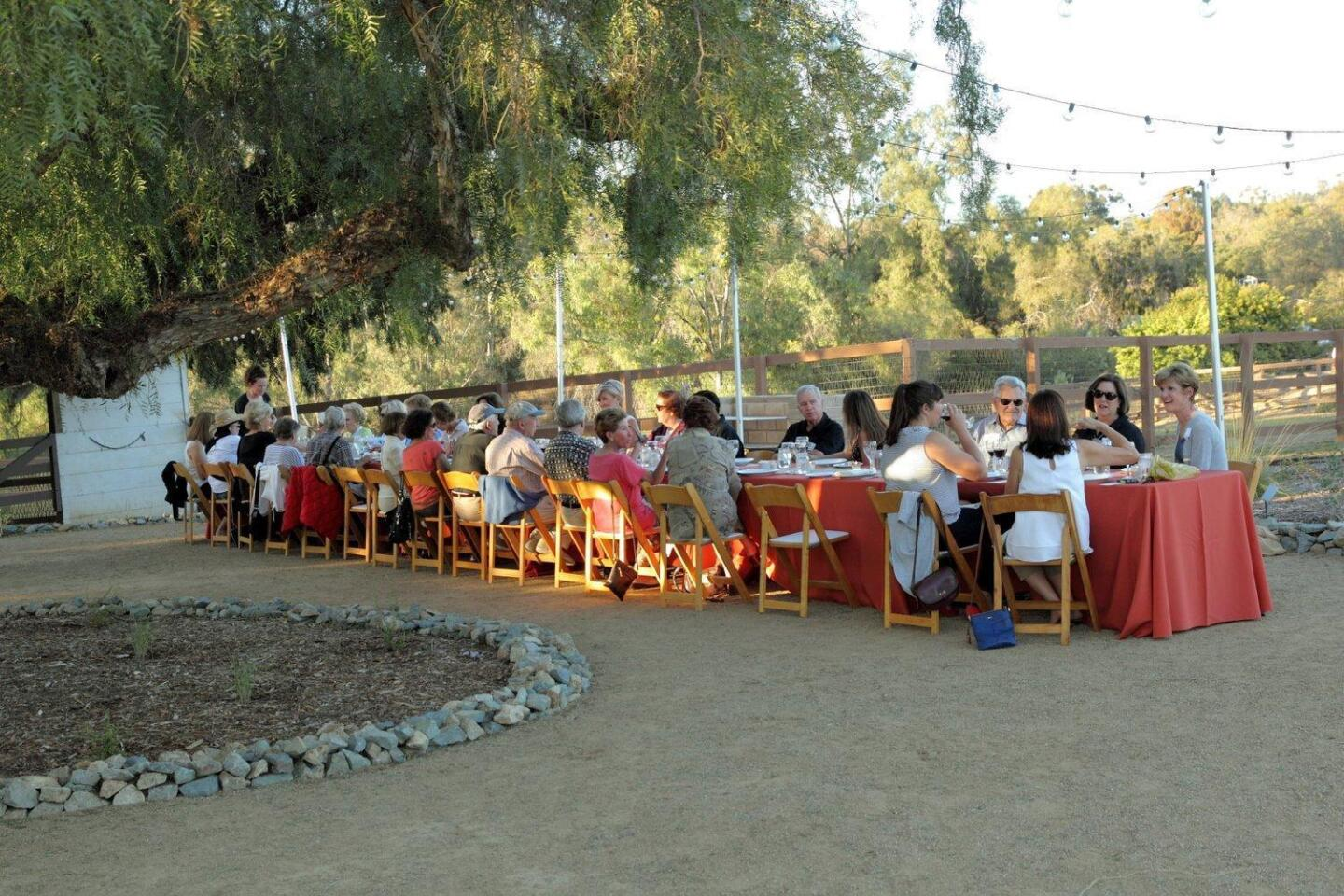 Farm to Table Dinner benefit
