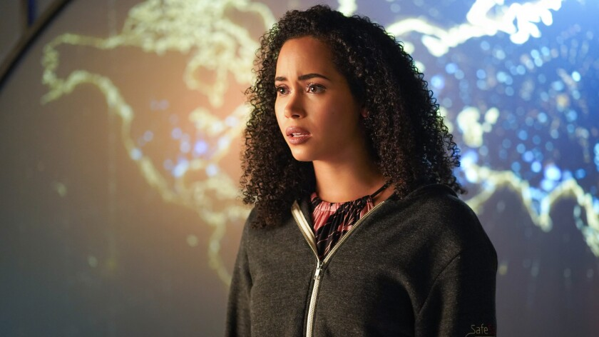 """Madeleine Mantock in """"Charmed"""" on the CW."""