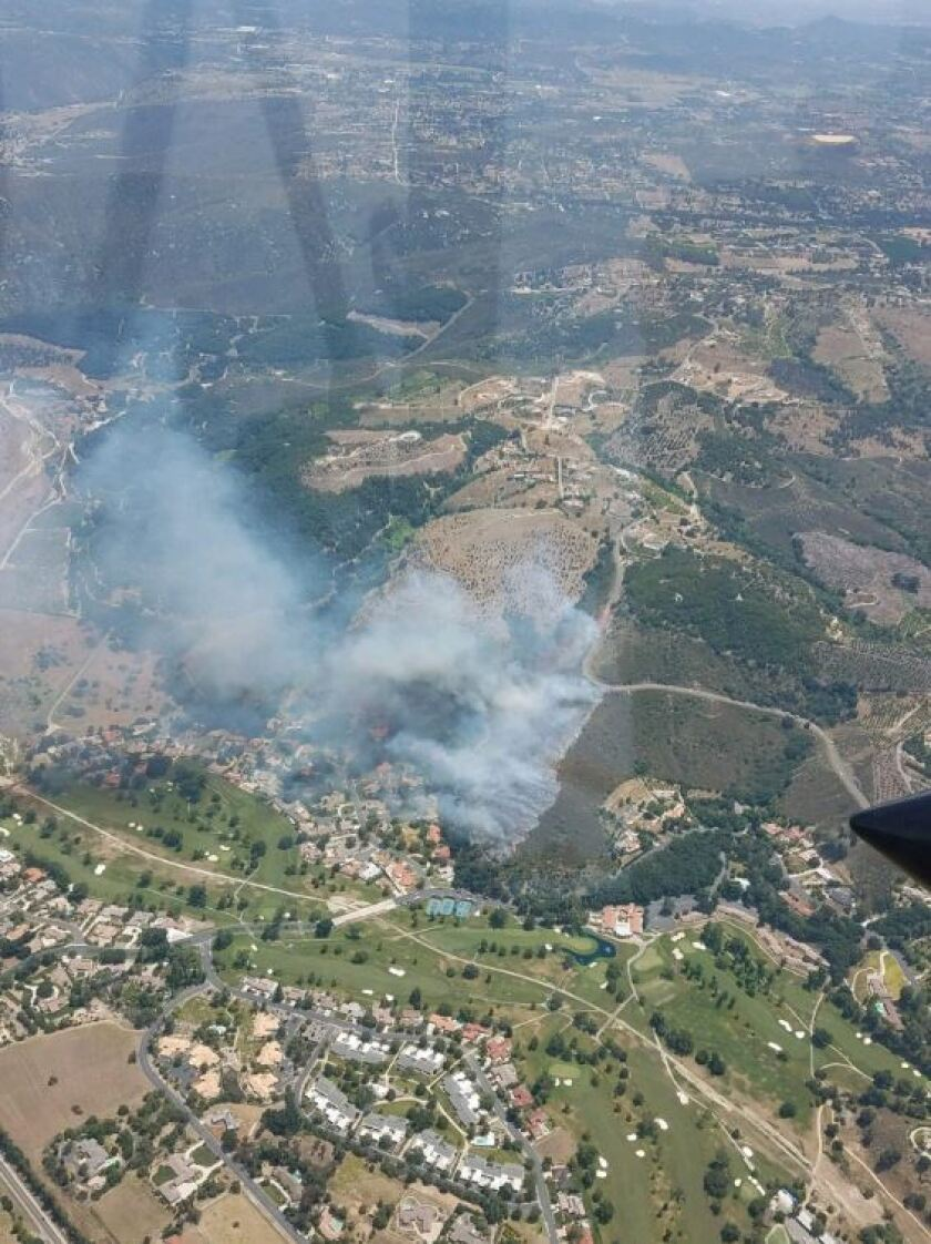 Pauma Valley fire