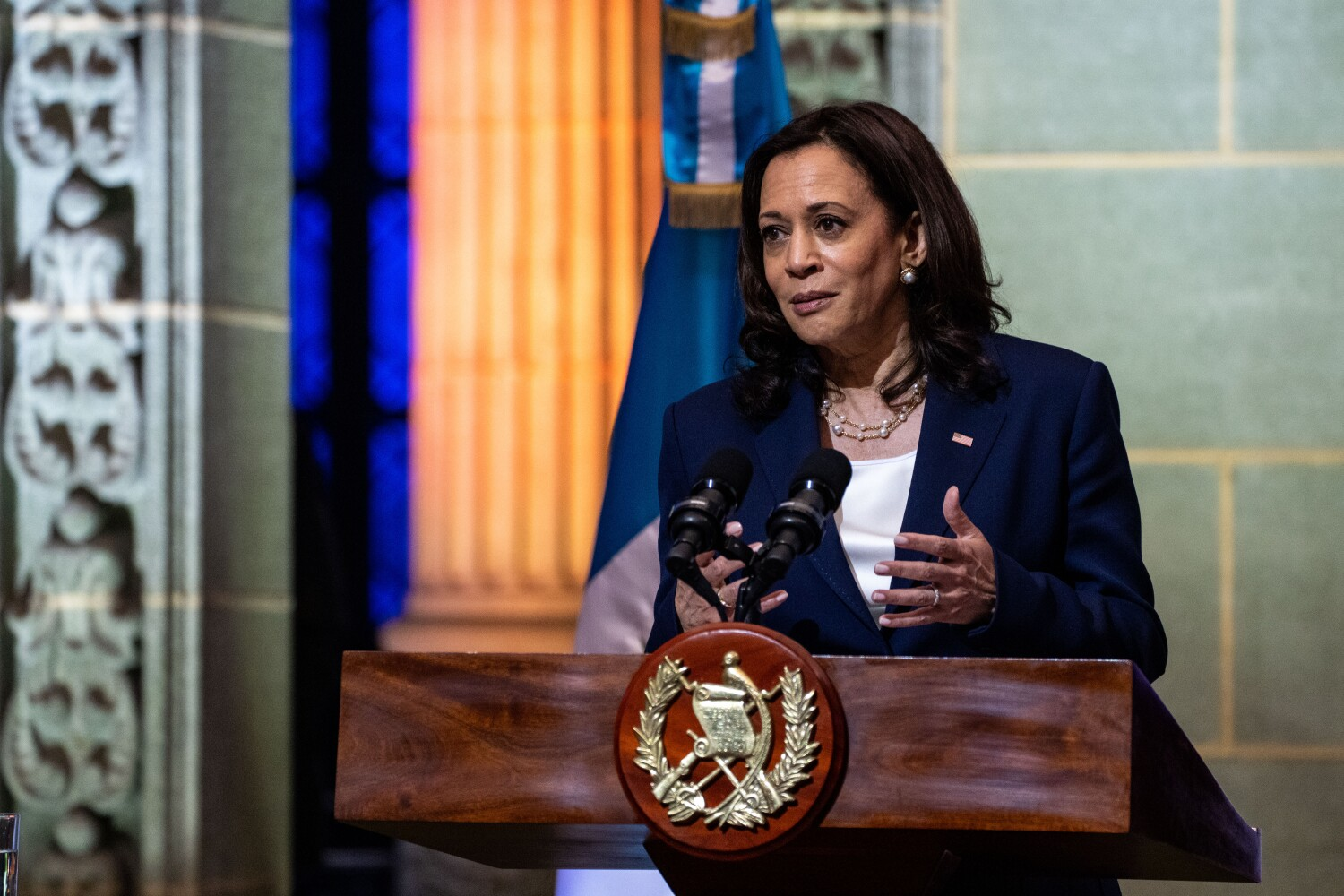 In Guatemala, Harris tells would-be migrants to U.S., 'You will be turned back'