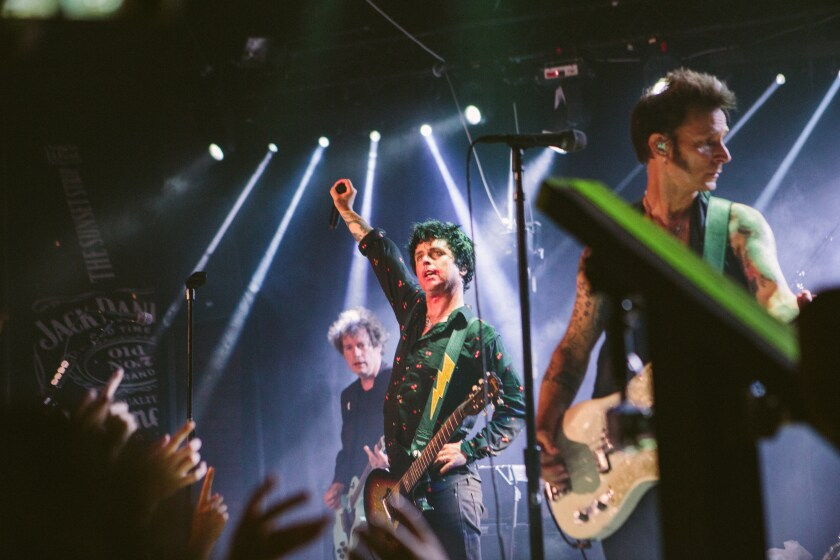 Review: Green Day, Fall Out Boy and Weezer cram decades of hits into Whisky a Go Go