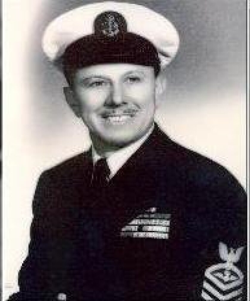 Battle of Midway honoree Ervin Wendt.
