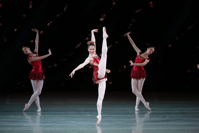 "Mariinsky Ballet's Renata Shakirova in ""Jewels"""
