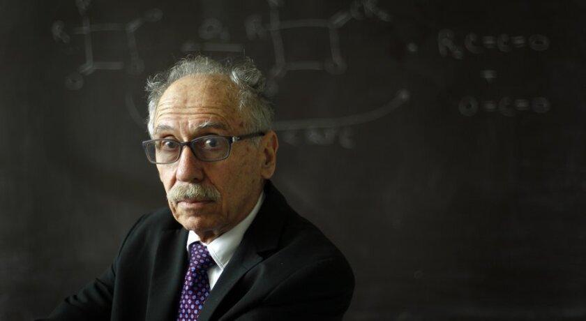 UC San Diego chemist Charlie Perrin